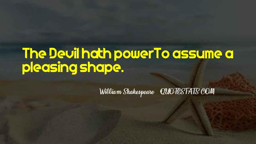 Quotes About Power In Hamlet #299128
