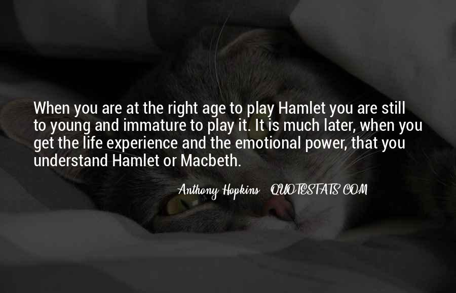 Quotes About Power In Hamlet #449127