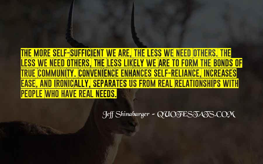 Quotes About Convenience Relationships #221805