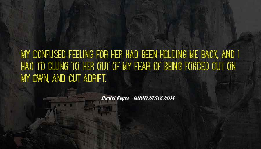 Quotes About Being Adrift #1793996