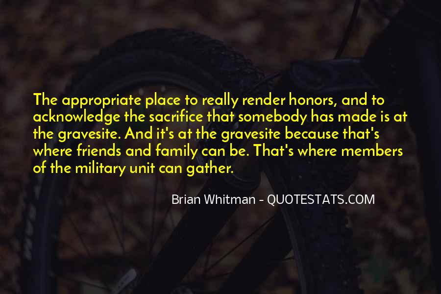 Quotes About Military Sacrifice #1798590