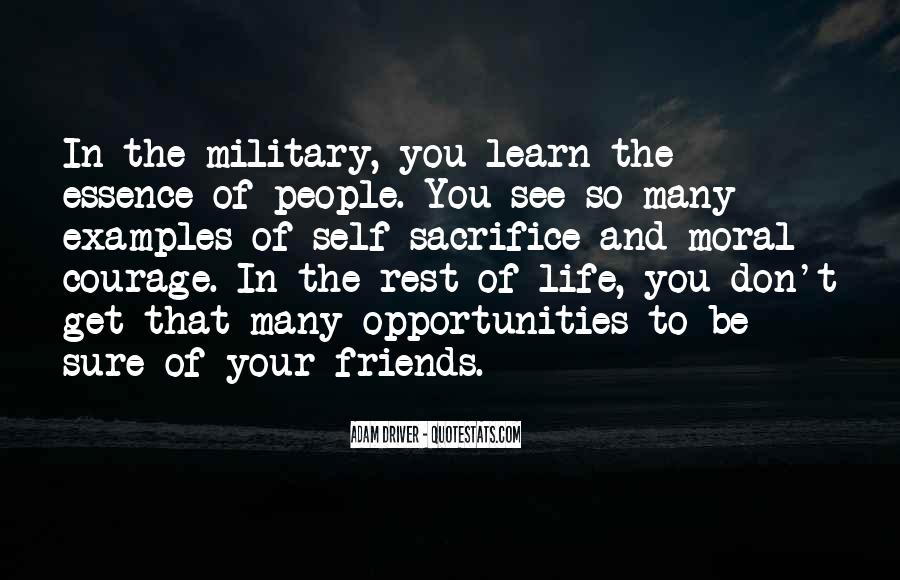 Quotes About Military Sacrifice #1861171