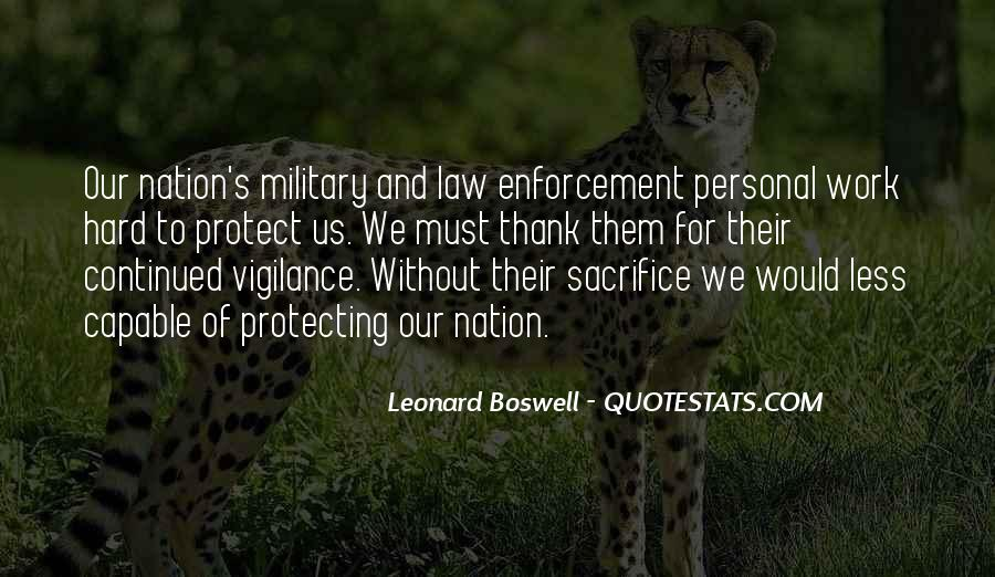 Quotes About Military Sacrifice #865249