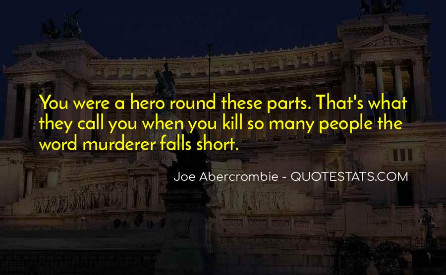Quotes About Abercrombie #230908