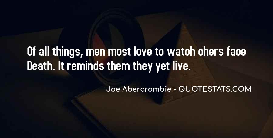 Quotes About Abercrombie #234689