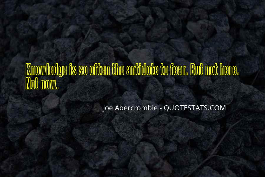 Quotes About Abercrombie #298206