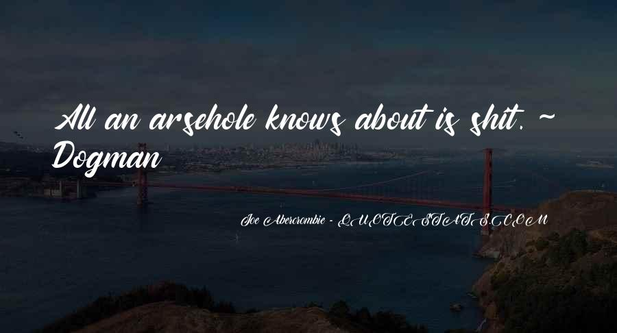 Quotes About Abercrombie #36515