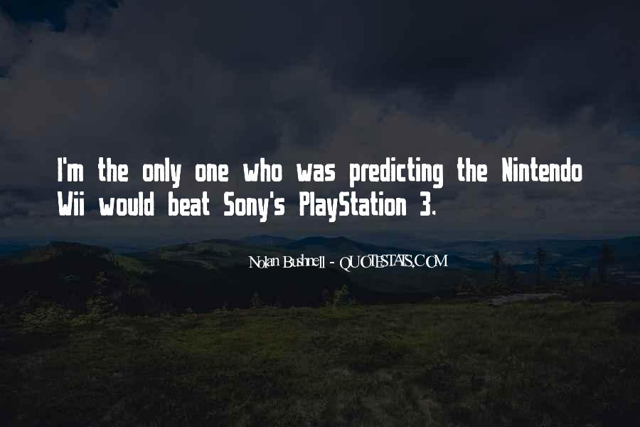 Quotes About Sony #1261172