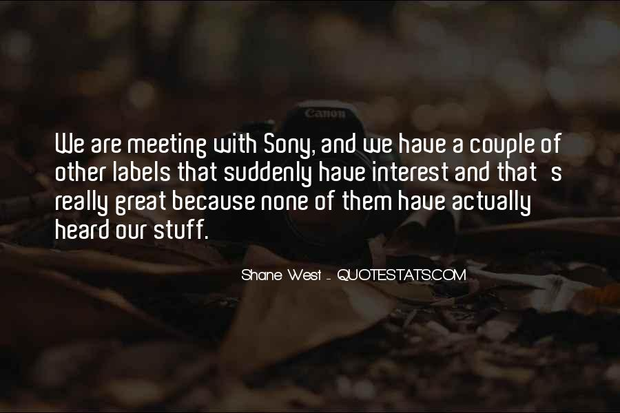 Quotes About Sony #1283488