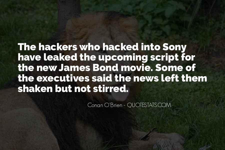 Quotes About Sony #1624534