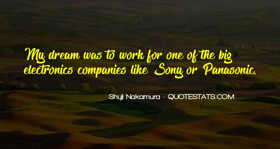 Quotes About Sony #1796109