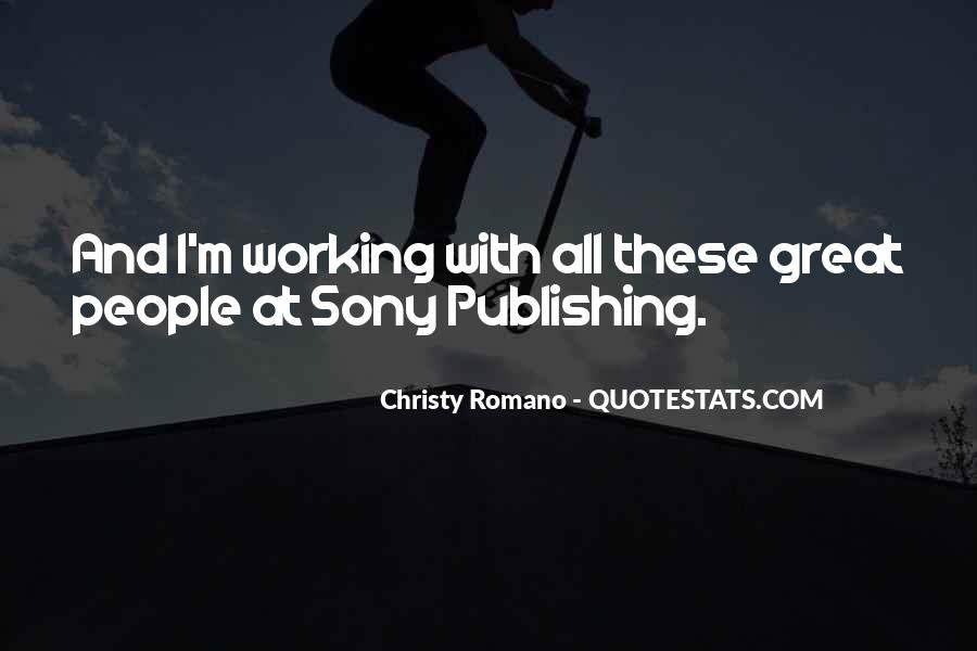 Quotes About Sony #362772