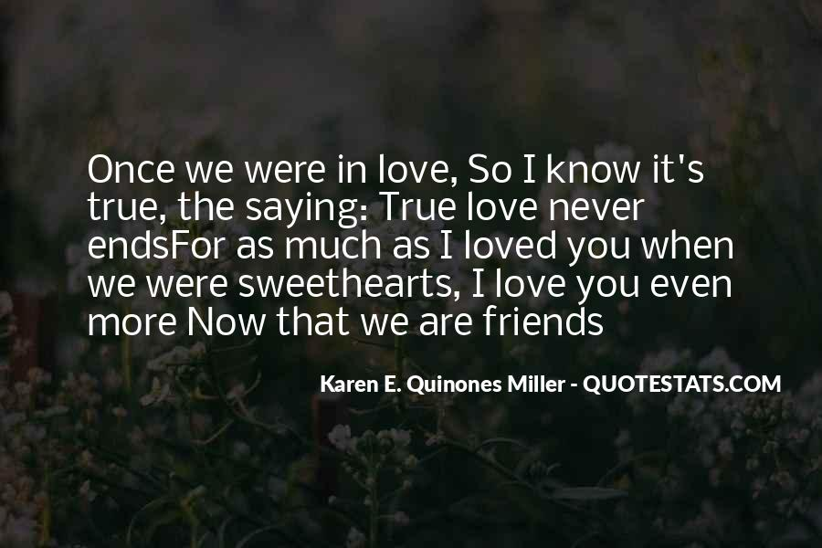 Quotes About Lost Love And Friendship #1121019