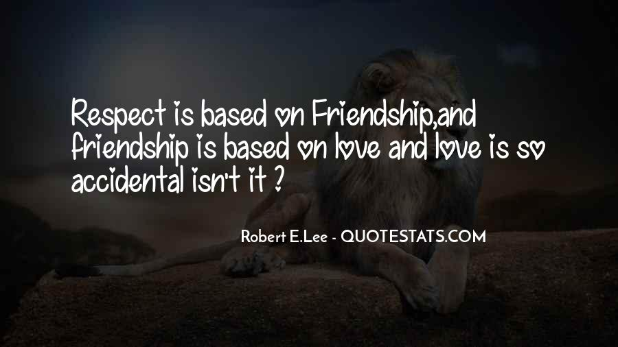 Quotes About Lost Love And Friendship #1600381