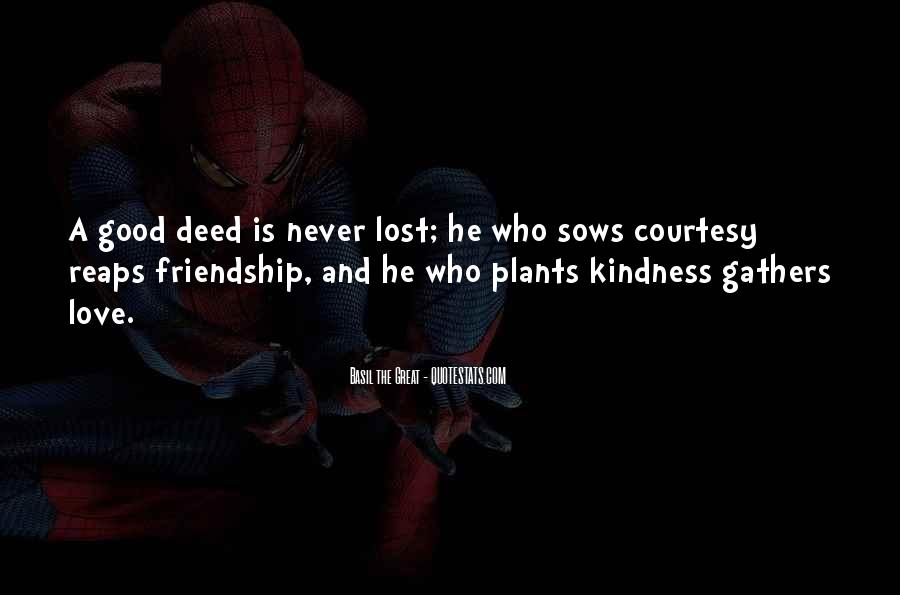 Quotes About Lost Love And Friendship #616163
