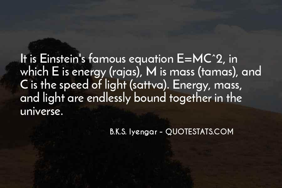 Quotes About Energy Einstein #1435881