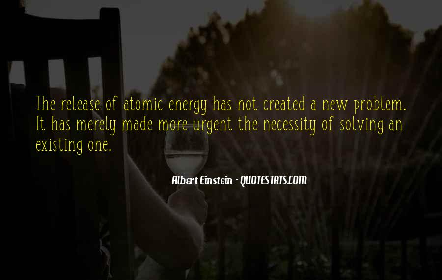 Quotes About Energy Einstein #302958