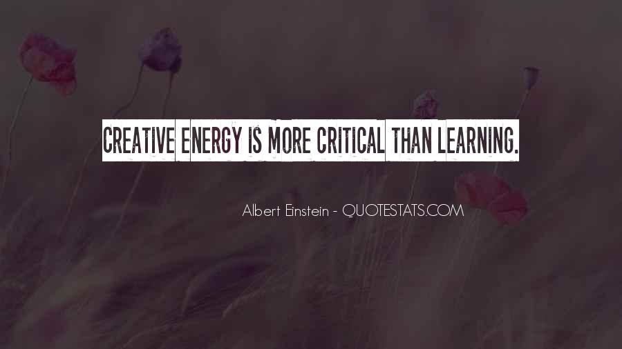 Quotes About Energy Einstein #638461