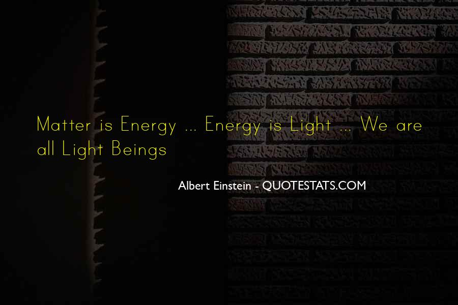 Quotes About Energy Einstein #684792