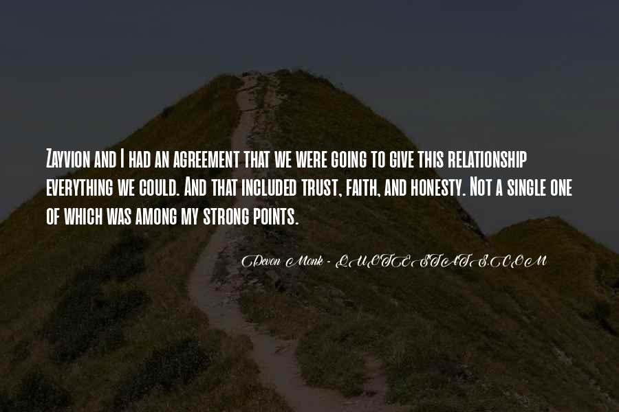 Quotes About Honesty And Trust In A Relationship #1468413