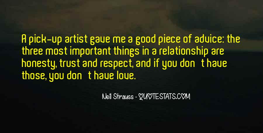 Quotes About Honesty And Trust In A Relationship #1784036