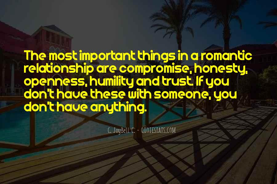 Quotes About Honesty And Trust In A Relationship #308638