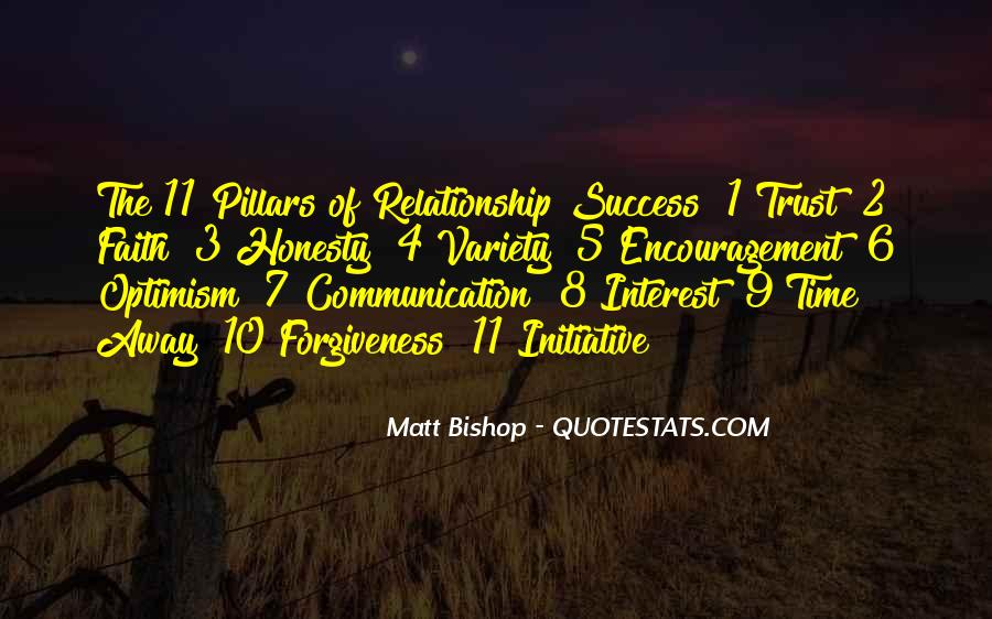 Quotes About Honesty And Trust In A Relationship #446988