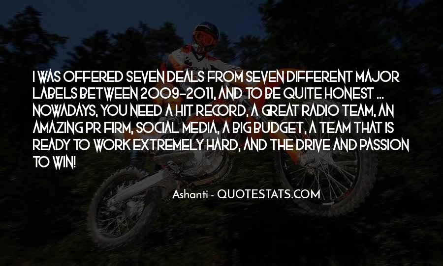 Quotes About Drive And Passion #741070