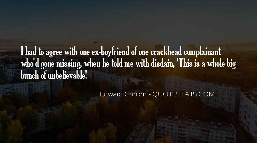 Quotes About Missing My Boyfriend #1772437