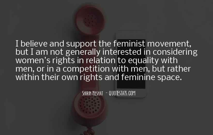 Quotes About Women's Rights Movement #1090287