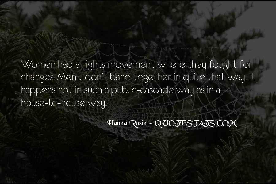 Quotes About Women's Rights Movement #1107853