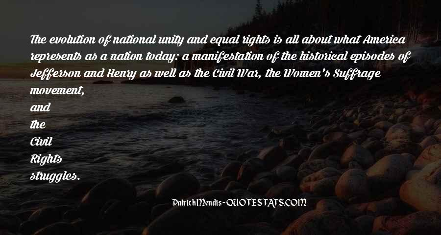 Quotes About Women's Rights Movement #1338519