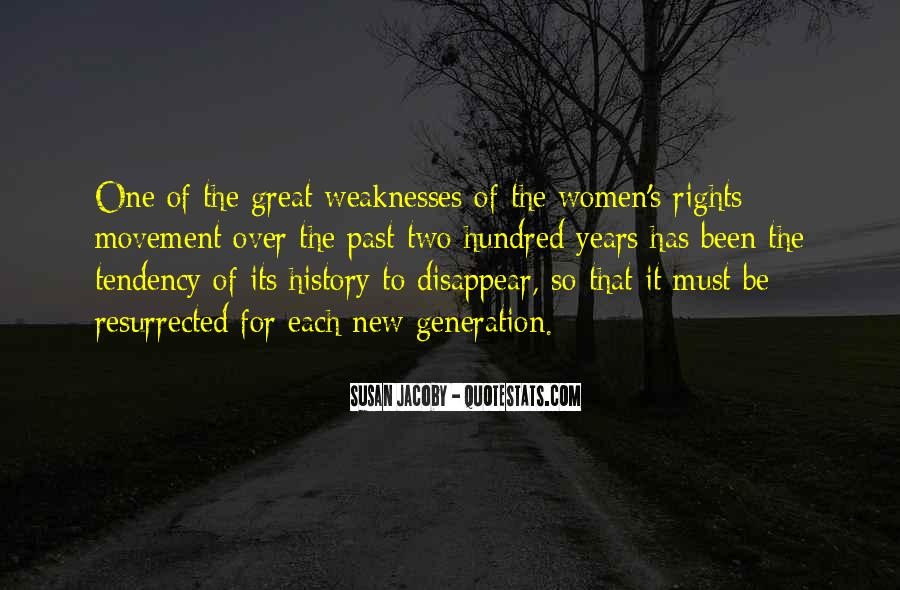 Quotes About Women's Rights Movement #1393494