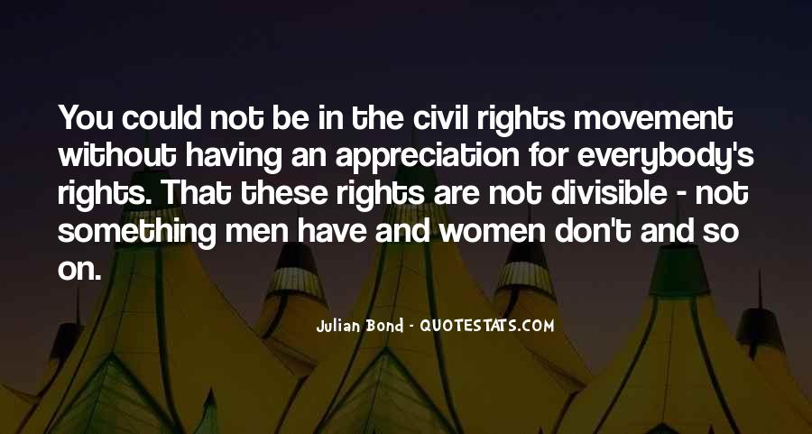 Quotes About Women's Rights Movement #1445707