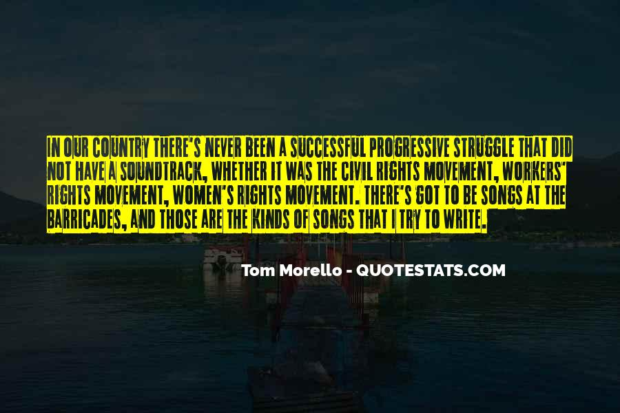 Quotes About Women's Rights Movement #1490238