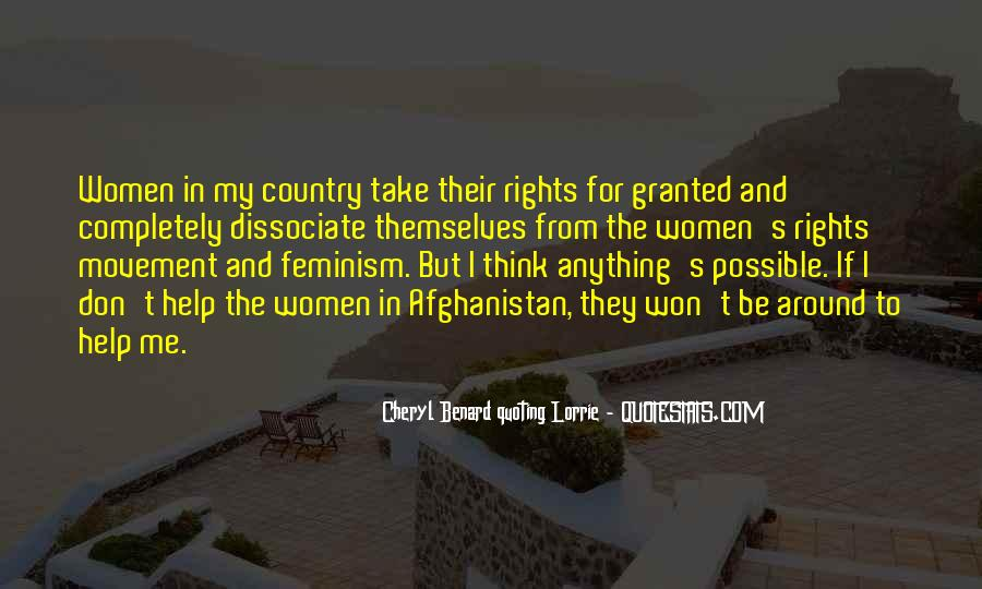 Quotes About Women's Rights Movement #1501654