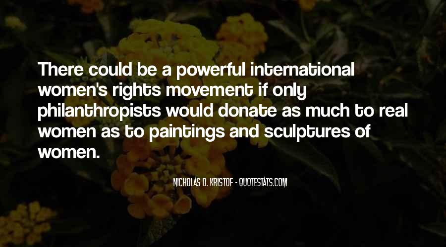 Quotes About Women's Rights Movement #1597361