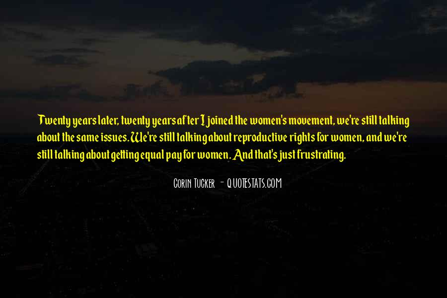 Quotes About Women's Rights Movement #1668990