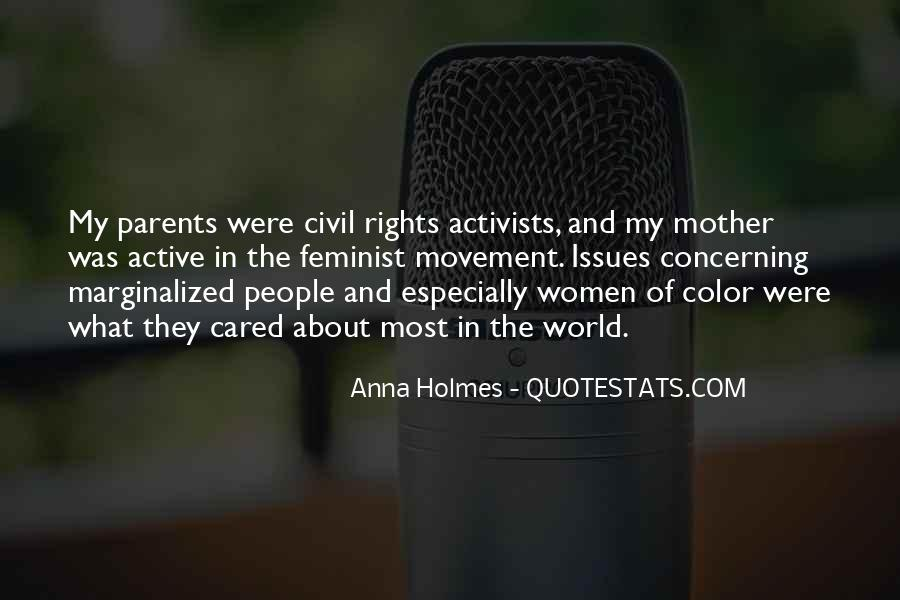 Quotes About Women's Rights Movement #1741535