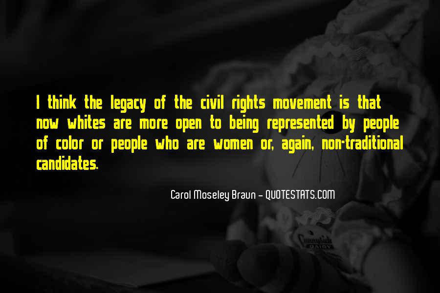Quotes About Women's Rights Movement #280838