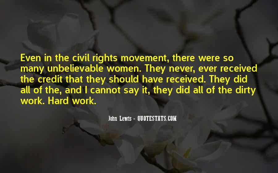 Quotes About Women's Rights Movement #366914