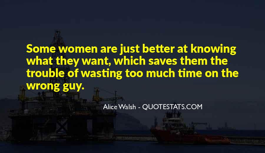Quotes About Wasting Time In A Relationship #1082245
