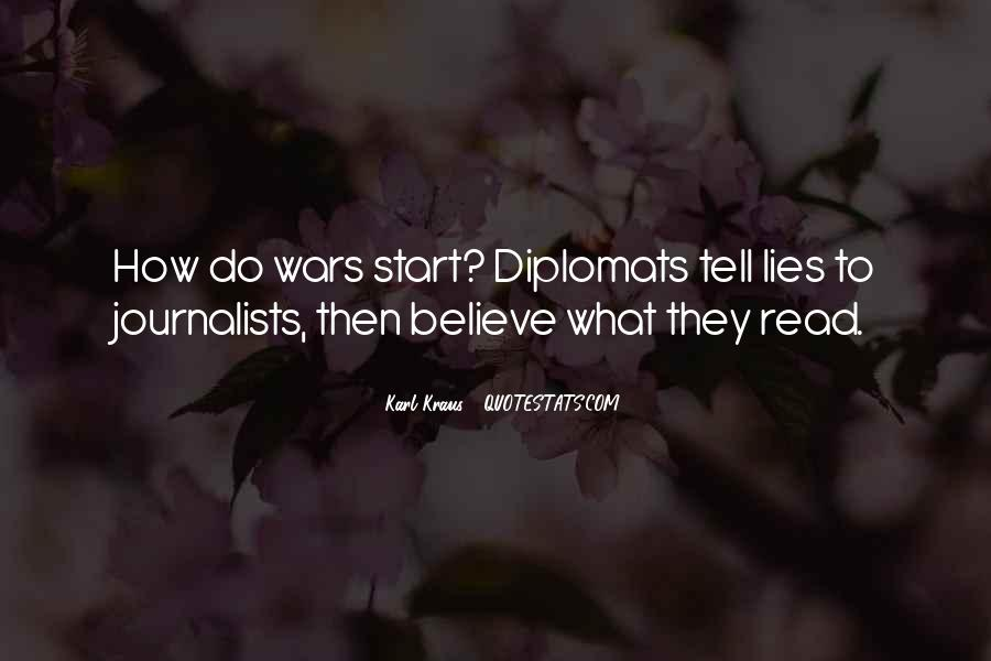 Quotes About Diplomats #1070299