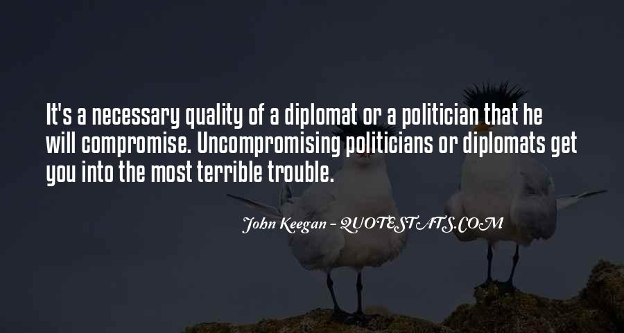 Quotes About Diplomats #1108075