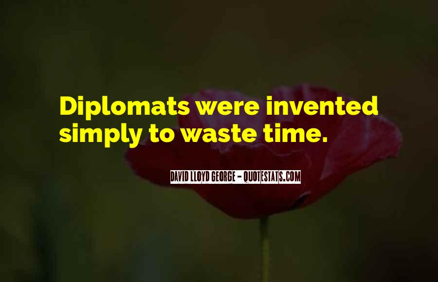 Quotes About Diplomats #1271040