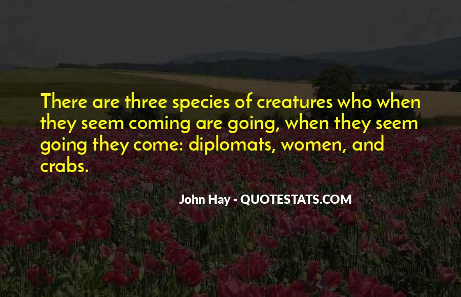 Quotes About Diplomats #128360