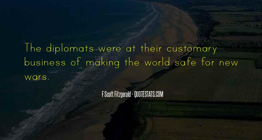 Quotes About Diplomats #141502