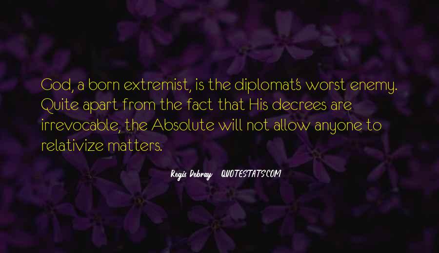 Quotes About Diplomats #1545792