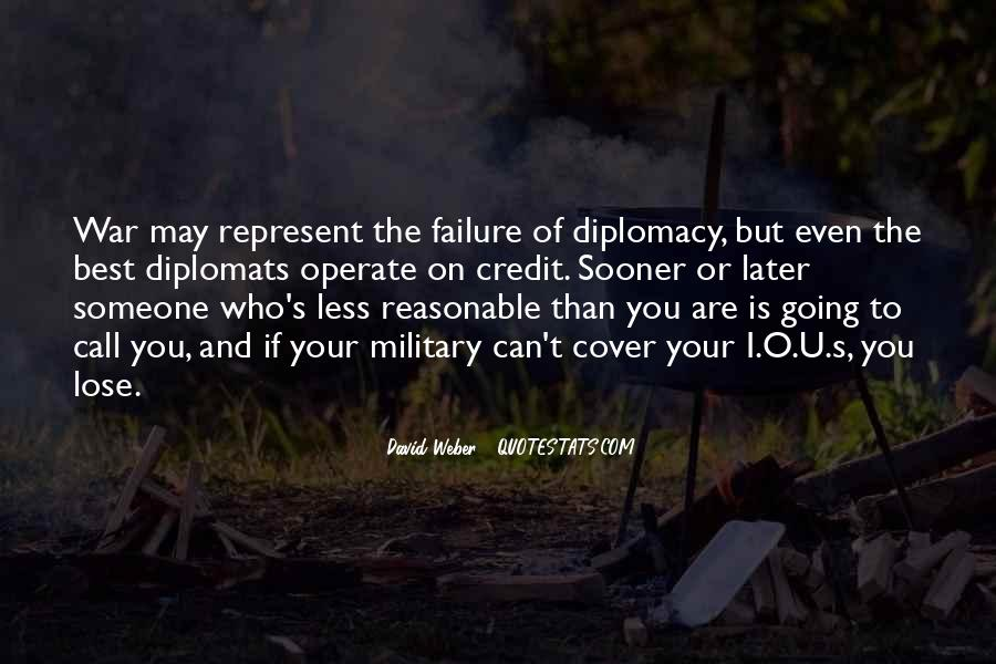 Quotes About Diplomats #269501