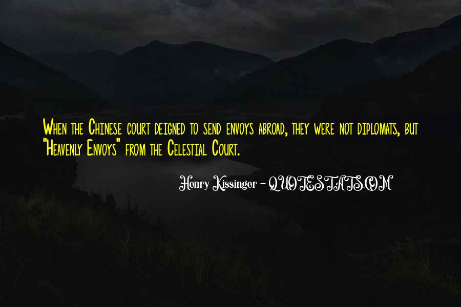Quotes About Diplomats #536038